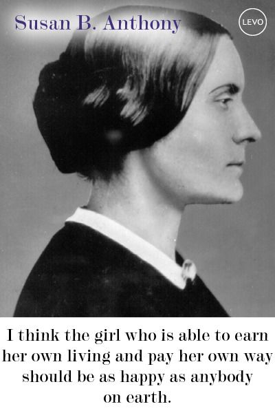 Susan B. Anthony: Women's History Month: 5 Suffragettes Who Wouldn't Quit | Levo League | #womensrights #womenshistorymonth #whm