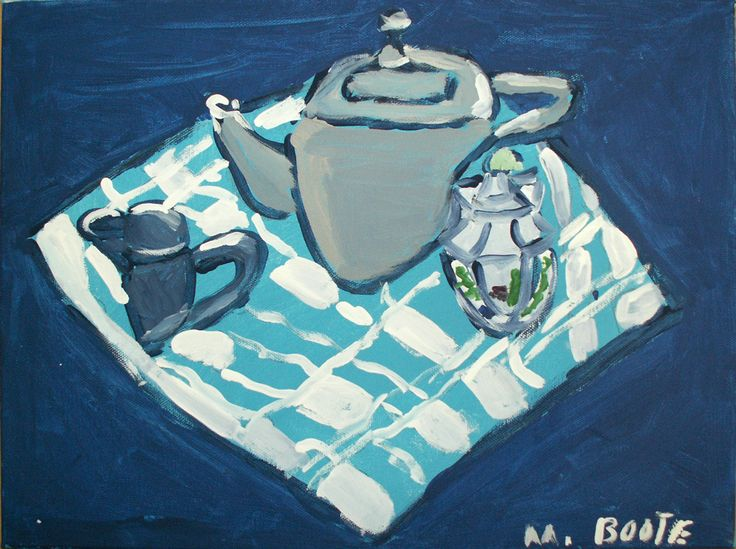 'Tea on a Blanket' – Melinda Boote from L'Arche in Canada – L'Arche International Art Exhibition – art.larche.org