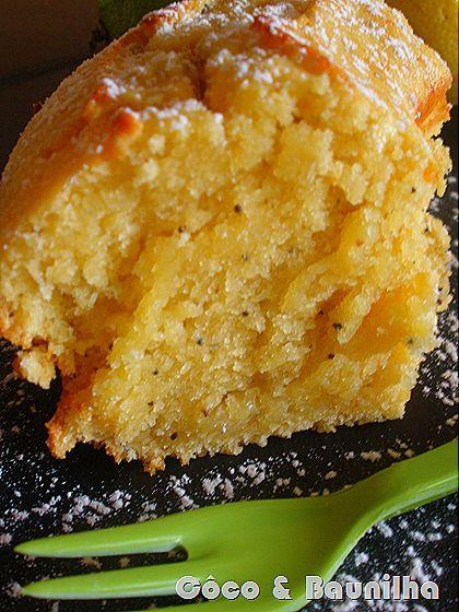 bolo de limão humido