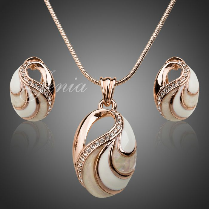 Cheap jewelry necklace, Buy Quality jewelry 925 directly from China jewelry women Suppliers:                             Hot Selling Fashion Opal Pendant and Earrings Sets 18k Gold Plated Imitation Je