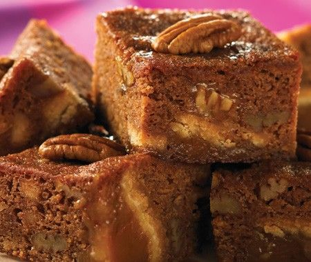 ❥ Southern Chocolate Pecan Pie Brownies Recipe | from 300 Best Casseroles Recipes cookbook | House & Home
