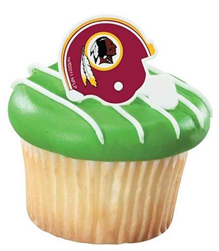 NFL Washington Redskins Cupcake Rings 12 Pack * Check out this great product.