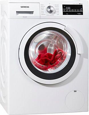 SIEMENS Waschmaschine WS12T440, A+++, 6,5 kg, 1200 U/Min in weiß im Online Shop von Baur Versand