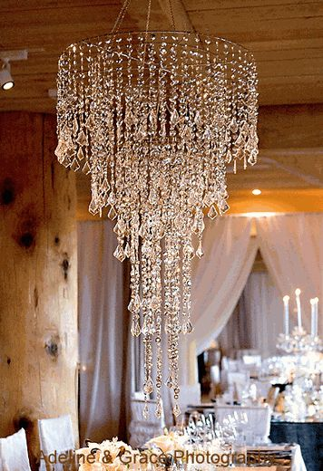 Silver Chandelier - love that this is only $170