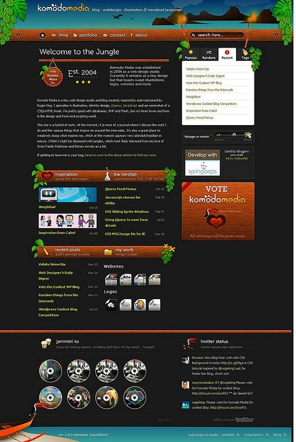 Komodo Media is a tiny web design studio and blog created, inspired by and maintained by Rogie King.     DiscoverHow thousands of client have picked WordPress  http://hbb6.com/WebSiteDesign