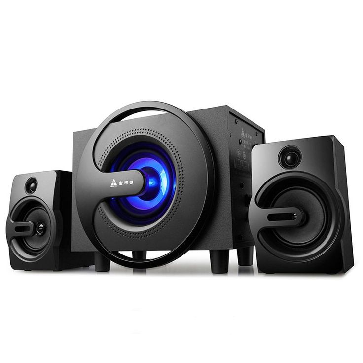 Q8 Bluetooth Satellite Speaker Bass Subwoofer Professional Design Home Audio Systems 2.1 Loudspeaker for Laptop/Computer/TV //Price: $142.49//     #shopping
