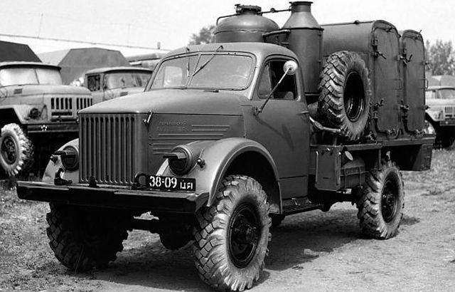 ДДА 53А на базе ГАЗ-63А
