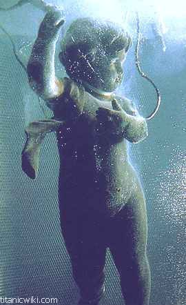 Titanic Grand Staircase Cherub Underwater! The real reason the Titanic sank, weeping Angels