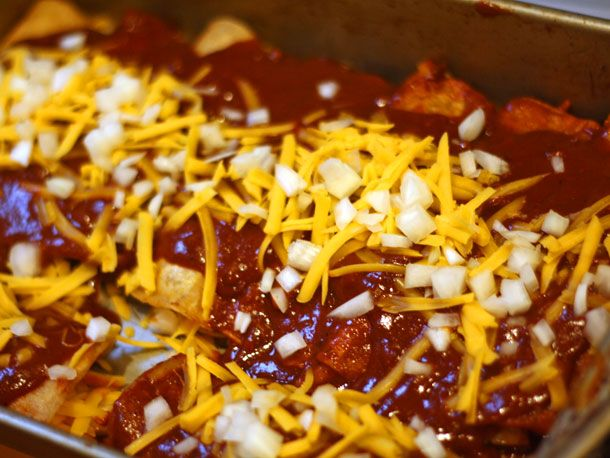 Tex-Mex Cheese Enchiladas With Red Chili Gravy | Serious Eats ...