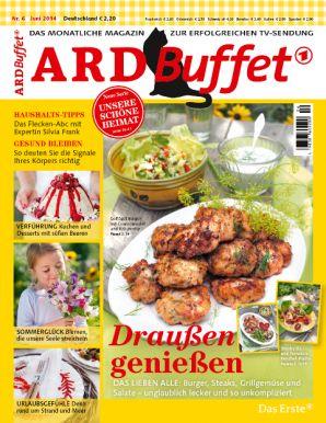 ARD Buffet Magazin 6/2014 Draußen genießen