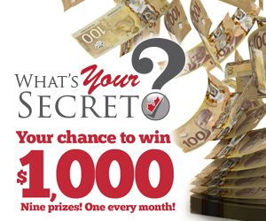 Win $1000 CAD by sharing your story with us.
