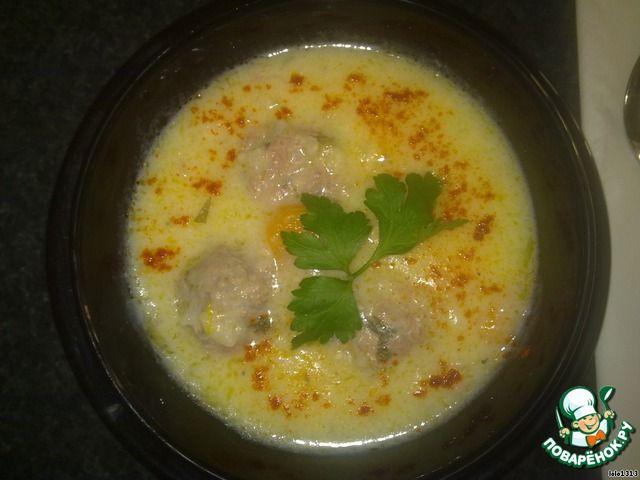 Греческий суп с фрикадельками ингредиенты