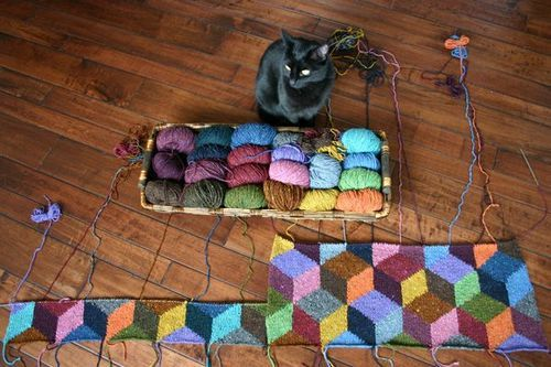 knit-me-a-blanket: This is absolutely beautiful!