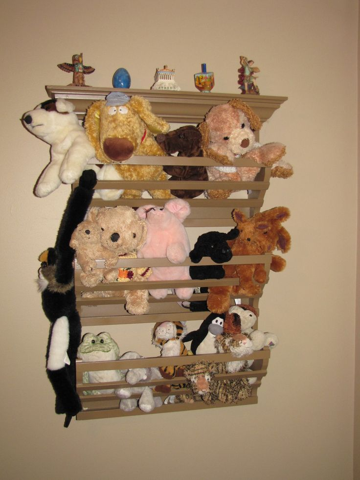 Stuffed Animal Toy Storage: 67 Best Images About Stuffed Animal Storage On Pinterest
