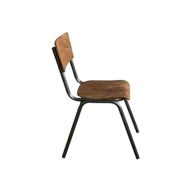 Best 20 chaise ecolier ideas on pinterest chaises de salle manger fran a - Chaise style ecolier ...