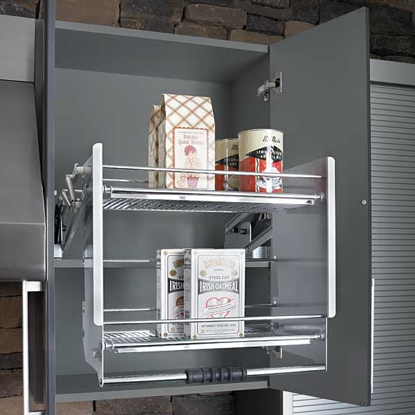 Kitchen Cabinet Pull Down Shelves Part - 25: Rev-A-Shelf Premiere Pull-Down Shelving System 5PD Series / A.K.A. KraftMaid