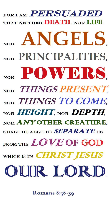 Romans 8 38-39