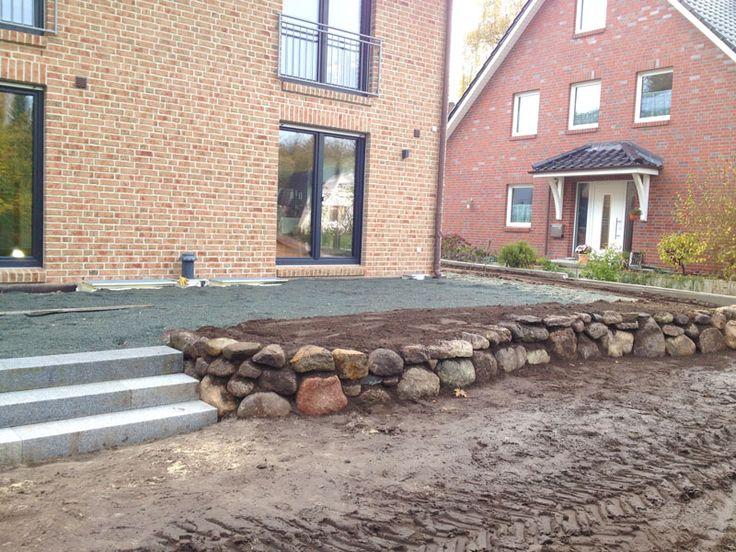 Familiengarten ber zwei ebenen terrasse porch pinterest for Gartengestaltung zwei ebenen