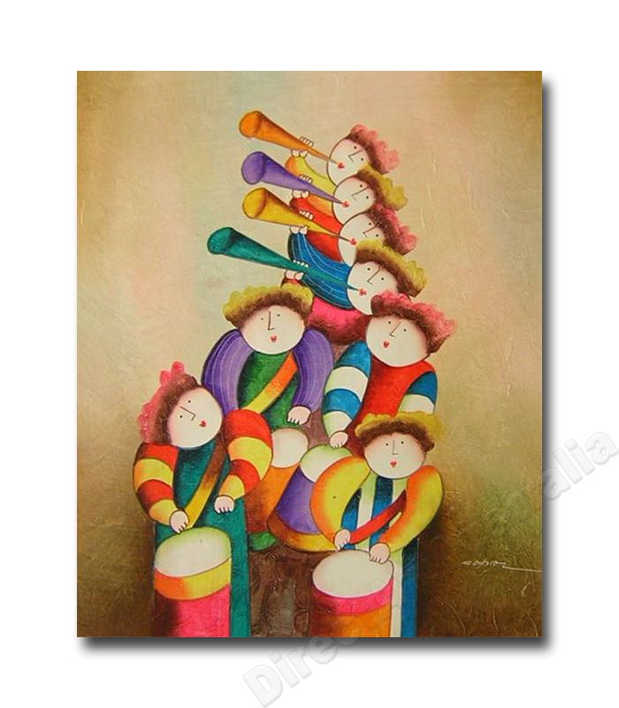 Hark the Herald , Indoor Wall Art & Hand Paintings for Young at Heart.  Price: $149.00,   - Direct Art Australia ,  http://www.directartaustralia.com.au/