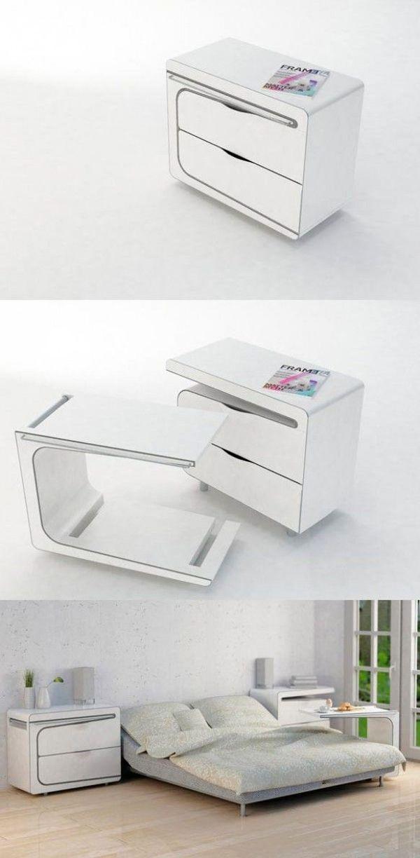 15 Futuristic Compact Tables   House Design And Decor