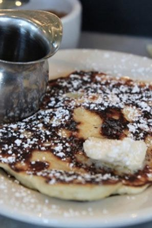 LEMON RICOTTA PANCAKES AT PLOW- 22 Things You Can't Leave San Francisco Without Eating via @PureWow