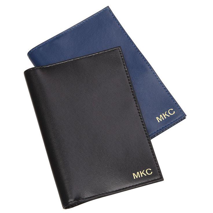 Personalised MC Leather RFID Passport Holder: $30.00 #rfidpassportcover #rfidpassportholder #passportcover #personalisedpassportcover