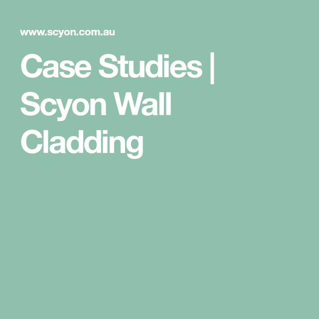 Case Studies | Scyon Wall Cladding