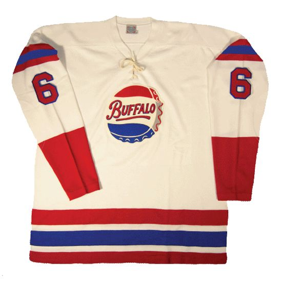 c2d8fa1b763 Buffalo Bisons 1960-61 AHL Jersey - Buffalo s Pastor Bros. purchased the  team in 1955