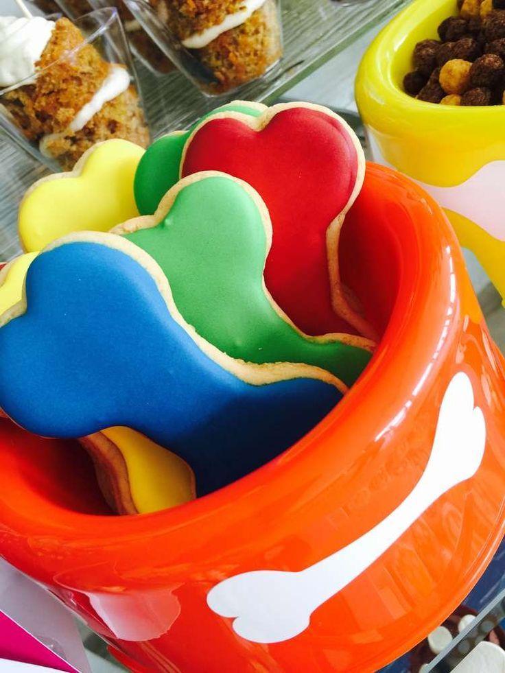 Paw Patrol Birthday Party cookies