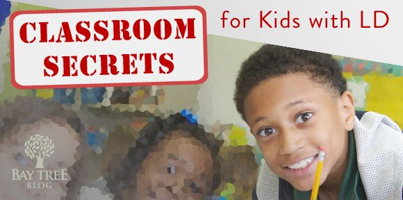 Classroom Secrets: Simple Strategies Equal Big Breakthroughs for Students with LD (BayTreeBlog.com)