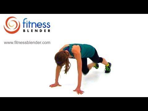 100 Burpees Workout Challenge - Fitness Blender's Burpee Madness 2 - Gotta Love the Burn! #BurnFat #WeightLoss