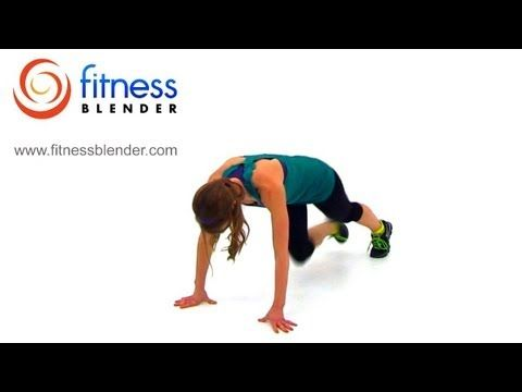 100 Burpees Workout Challenge - Fitness Blender's Burpee Madness 2 - Gotta Love the Burn! #BurnFat #WeightLoss