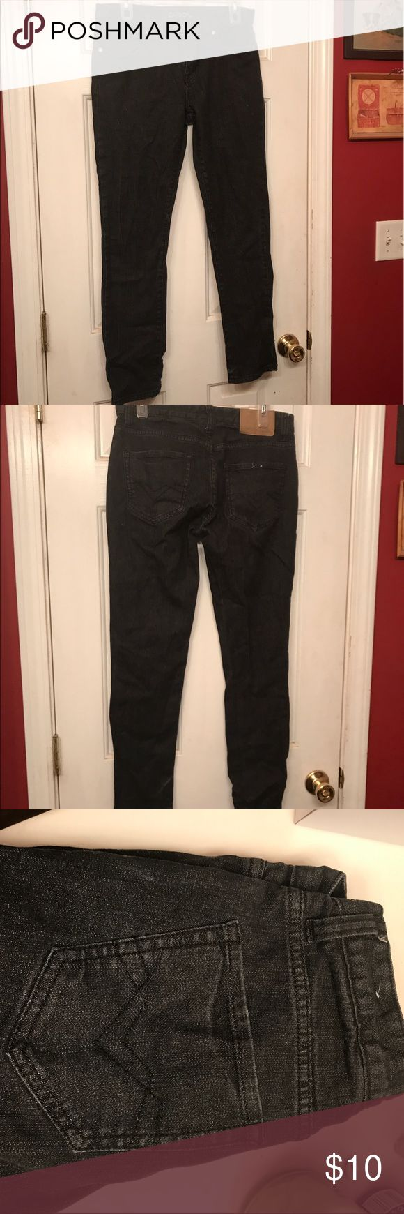 Men's black Carbon jeans size 30/30 End black Carbon jeans size 30/30. Non smoking home. Very sharp looking on. Rue 21 Jeans Relaxed