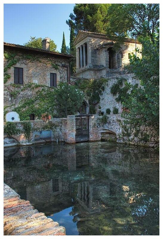 Tempietto del Clitunno - Campello sul Clitunno, Perugia, Umbria Italy