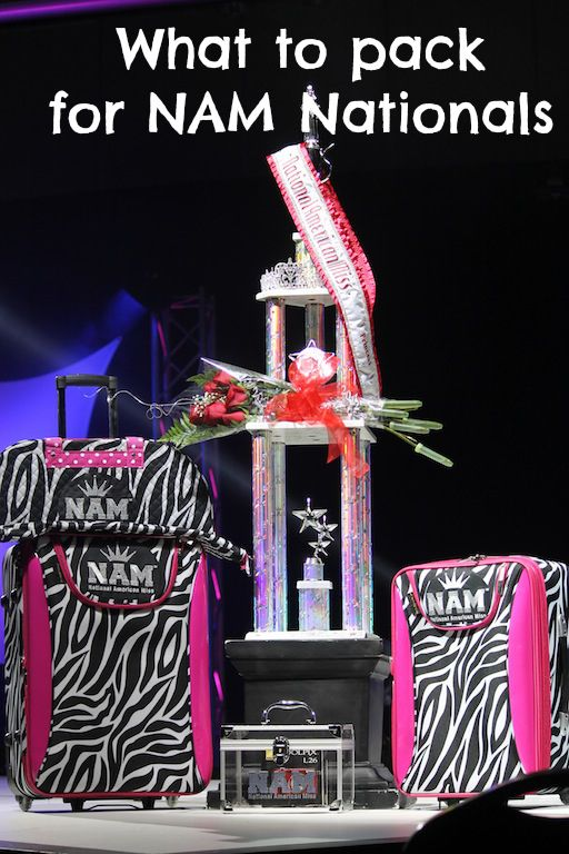 TIP: What to pack for the National American Miss National Pageant (click through to read)