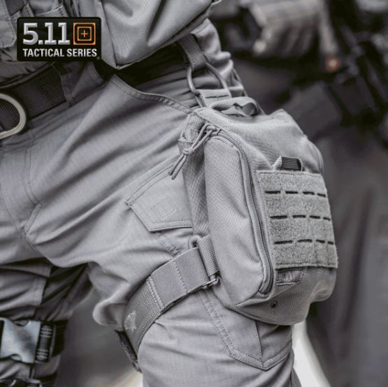 5.11 UCR Tactical Carrying Pouch Thigh Rig Accessory Holder Molle Compatible 1050D Nylon