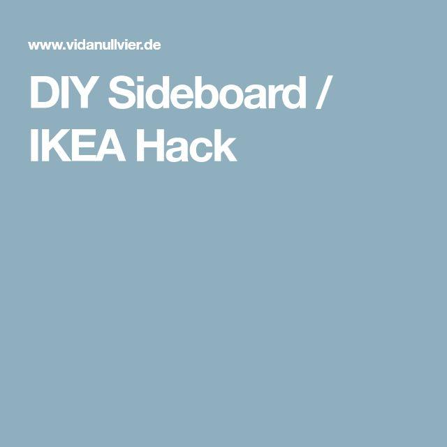 Die besten 25+ Sideboard ikea Ideen auf Pinterest Ikea sideboard - ikea küche anleitung