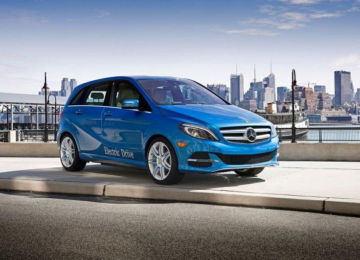Mercedes Classe B électrique : 27 km d'autonomie en plus (en option)