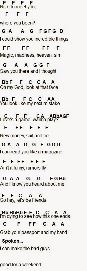 Flute Sheet Music: Blank Space