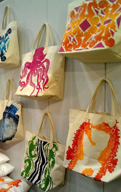 Modern Beach Bags from Dermond Peterson Design