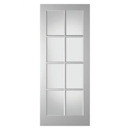 LD6512 stompe glasdeur. Prachtige binnendeur met acht ruitjes voor een speels effect!