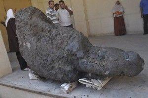 El Universal 141029 - Cultura - Excavación clandestina descubre templo faraónico