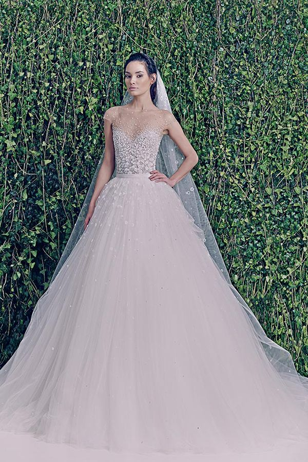 Zuhair Murad 'Lucia' gown with detachable skirt   Top Wedding Dress Trends for 2015