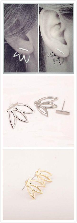 Cute earrings. Wish they were sterling.