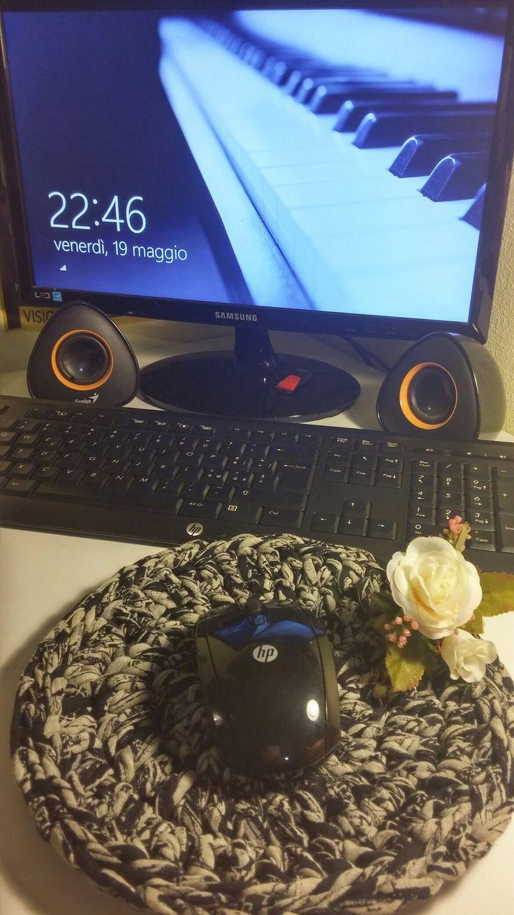 Porta mouse crochet handmade di Giovanna Demurtas