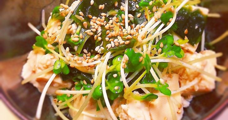 簡単☆豆腐ポン酢サラダ by ☆Herb☆ [クックパッド] 簡単おいしいみんなのレシピが270万品