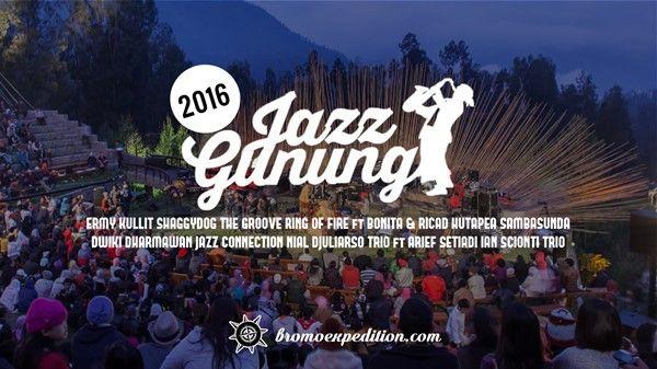Jazz Gunung Bromo 2016 informasi jadwal harga tiket cara membeli tiket Jazz Gunung 2016. Informasi selengkapnya disini.