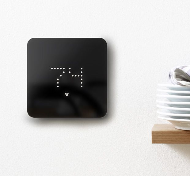 Zen Thermostat. It's no surprise that this smart thermostat is fully funded on Indiegogo. It's got a clean, simple LCD touchscreen & uncomplicated controls. An app lets you control home heating, AC & energy saving from anywhere using your phone. It also connects with home automation systems like Apple HomeKit & OpenHome.