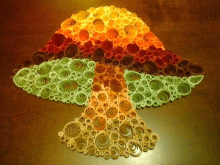 completed mushroom
