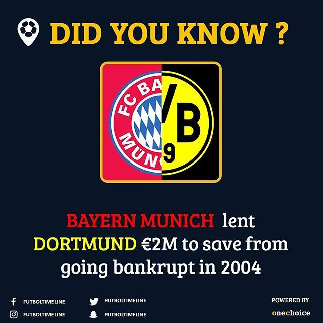 Well you need competition right? But pretty respectful gesture from Bayern. #respect #football #soccer #fcbayernmunchen #fcb #bayernmunich #bayern #dortmondfc #dortmund #yellowsubmarine #germany #munich #bernlin #bundesliga #germanleague #bvb #bvbyouwillneverwalkalone #bvbforever #bvbfamily  #bayernmunchen #bayernmünchen